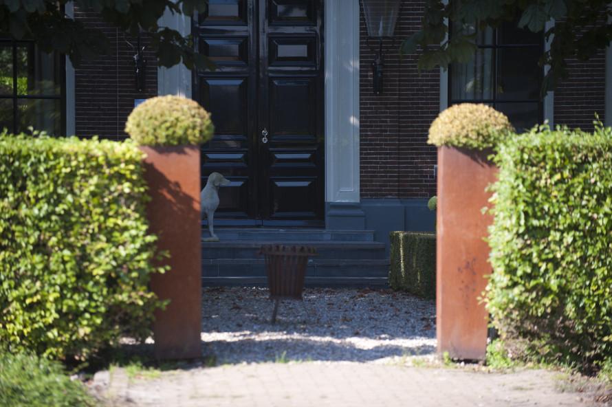 Tuin notariswoning Genemuiden - Outlook Groenprojecten