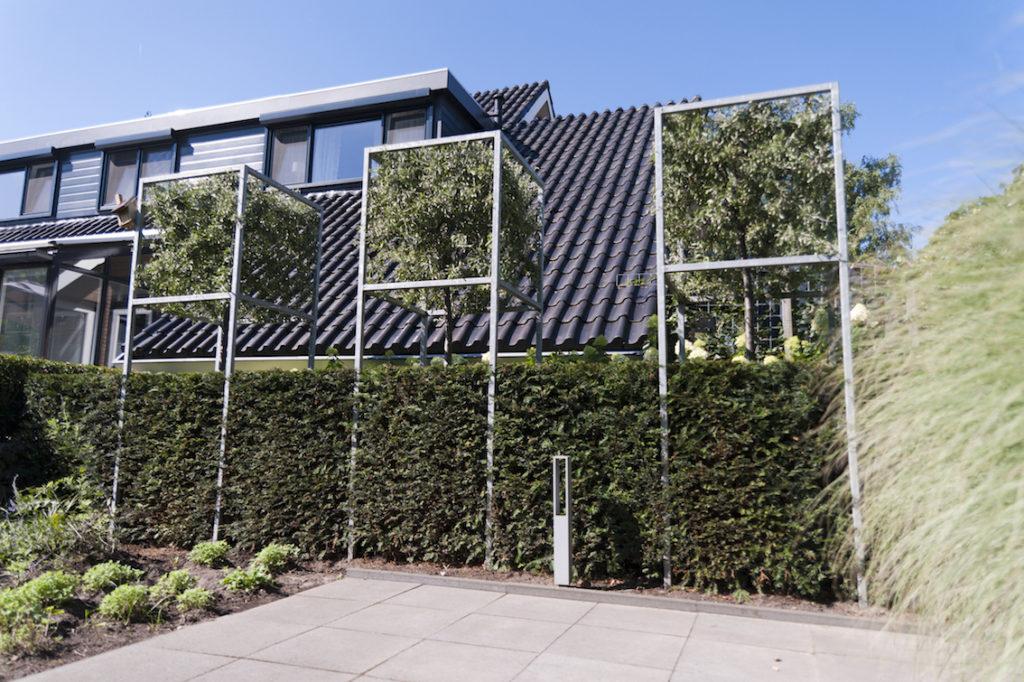 Bekend Tuin met hoogteverschillen in Genemuiden | Outlook Groenprojecten NI71