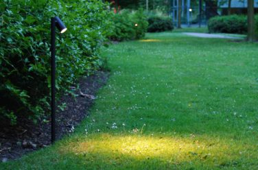 goede sfeerverlichting in tuin