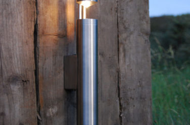 Tuinverlichting - torch wall strand - Outlook Groenprojecten
