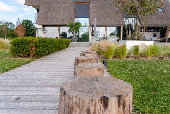 originele tuinrealisatie