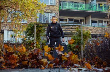 tuinonderhoud in de herfst
